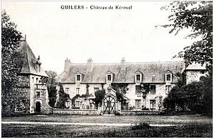 Louise de Kérouaille, Duchess of Portsmouth - Manor of Keroual, near Brest, property of Louise; she was born there in 1649.