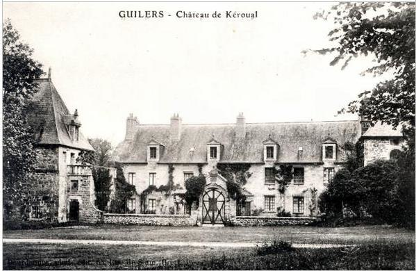 Manoir Keroual av ruine
