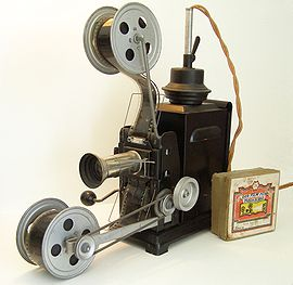 Manual Film projector