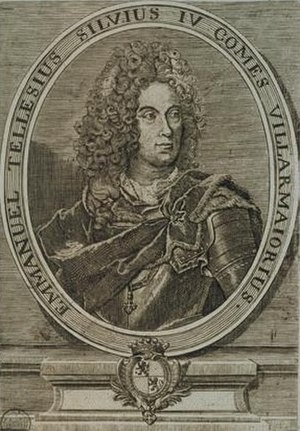Methuen Treaty - Manuel Teles da Silva, 3rd Marquis of Alegrete, 4th Count of Vila Maior (1682-1736)