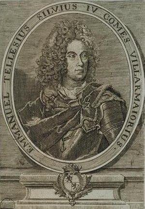 Methuen Treaty - Manuel Teles da Silva, 3rd Marquis of Alegrete, 4th Count of Vila Maior (1682-1736)