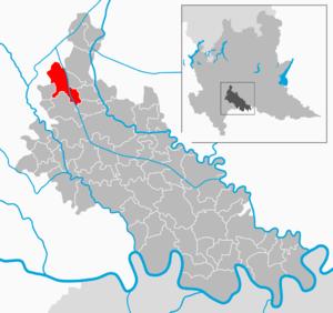 Mulazzano - Image: Map IT Lodi Mulazzano