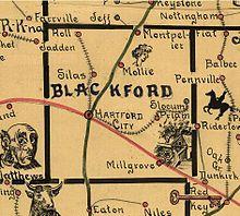 Hartford City Indiana Map.Hartford City Indiana Wikivisually