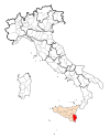 Map Province of Siracusa.svg