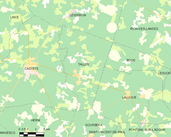 Map commune FR insee code 40311.png