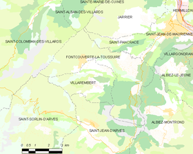 Map commune FR insee code 73116.png