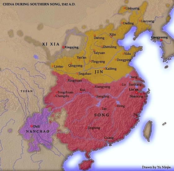 Map of China 1142