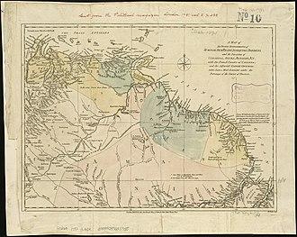 Dutch colonisation of the Guianas - Image: Map of Dutch Guiana and of Curaçao, Bonaire, and Aruba, 1781