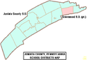 Map of Juniata County Pennsylvania School Districts.png