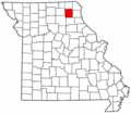 Map of Missouri highlighting Knox County.png