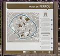 Mapa de Lugo na Praza de Ferrol. Lugo. Galiza-1.jpg