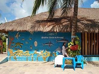 Maragogi - Tourism office at Maragogi Beach