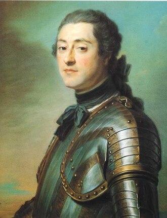 Marc René, Marquis de Voyer de Paulmy d'Argenson - Marc René, Marquis de Voyer de Paulmy d'Argenson by Maurice Quentin de La Tour.