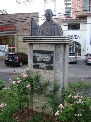Marcellin Champagnat - Statue of Champagnat at Belo Horizonte, Brazil.