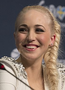 Margaret Berger, ESC2013 press conference 01 (crop) (cropped).jpg