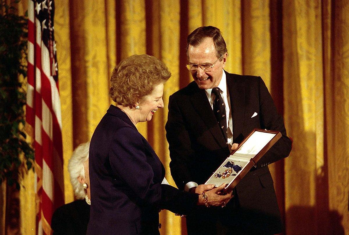 File:Margaret Thatcher awarded Presidential Medal of Freedom.jpg - Wikimedia Commons