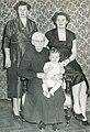 Maria Dahlberg 4 generations c 1960.jpg