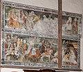 Maria Saal Pfarrkirche Mariae Himmelfahrt Chor N-Wand Fresken 30092016 4658.jpg