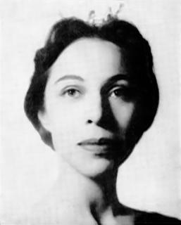 Maria Tallchief American ballerina