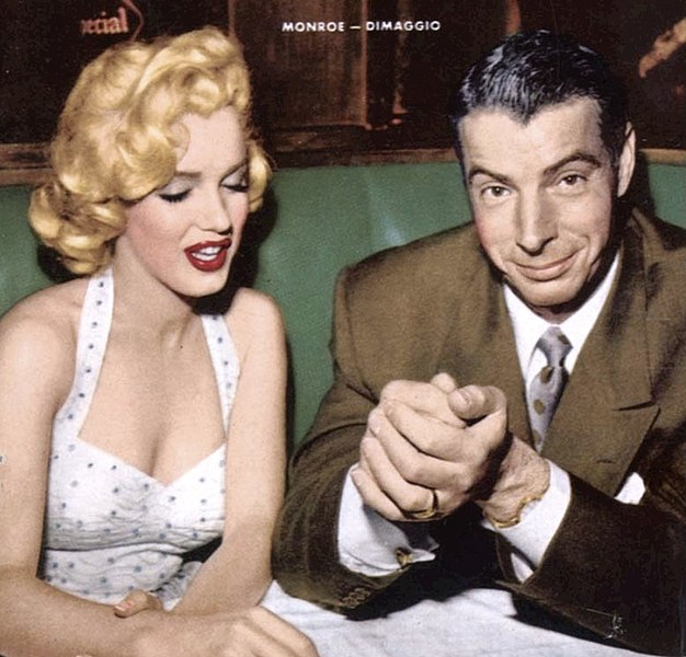 File:Marilyn Monroe Joe DiMaggio January 1954.jpg