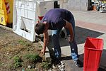 Marines, sailors clean up after-school center in Catania 150911-M-AB321-001.jpg