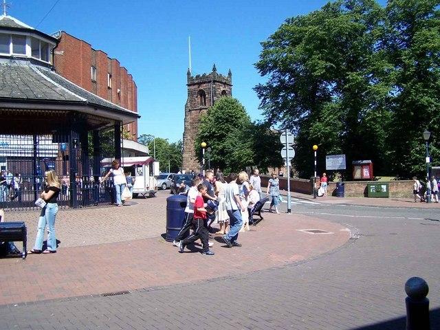 Market Place, Cannock - geograph.org.uk - 202759