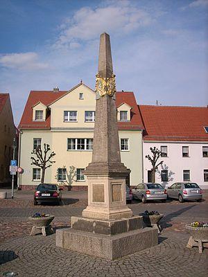 Wittichenau - Image: Markt Wittichenau 2