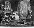 Marriage a la mode, after William Hogarth. Wellcome M0008971.jpg