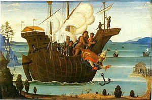 Bernardino Fungai - Martyrdom of St Clement