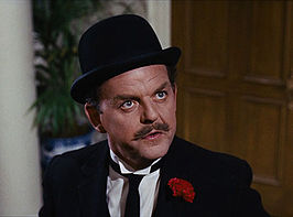 David Tomlinson in Mary Poppins