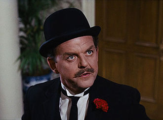 David Tomlinson - Tomlinson as George Banks in Mary Poppins, 1964