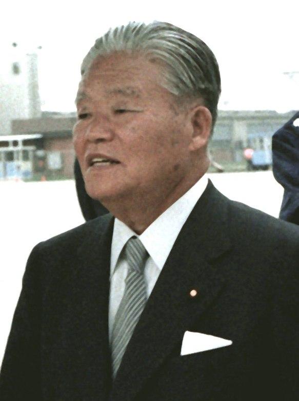 Masayoshi Ohira at Andrews AFB 1 Jan 1980 walking cropped 2