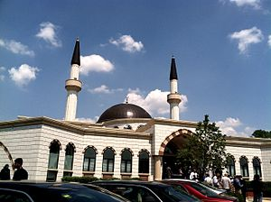 Lombard, Illinois - Lombard's Masjid Darussalam, an Islamic center built in 2013.