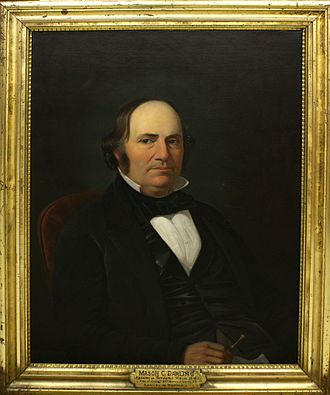 Wisconsin's 2nd congressional district - Image: Mason C. Darling, painted by Samuel M. Brookes and Thomas H. Stevenson, 1856