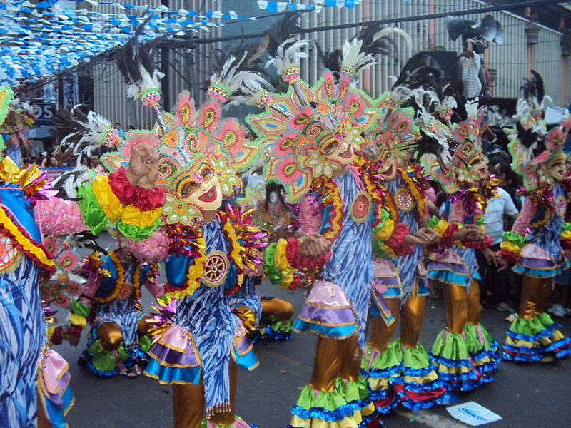 File:MassKara Festival, Bacolod City, Philippines.JPG