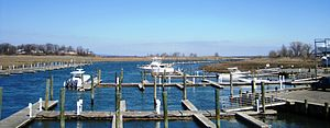 Aberdeen Township, New Jersey - Mouth of Matawan Creek