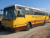 Mateh Binyamin school bus