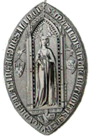 Mahaut, Countess of Artois - Seal of Mahaut, Countess of Artois