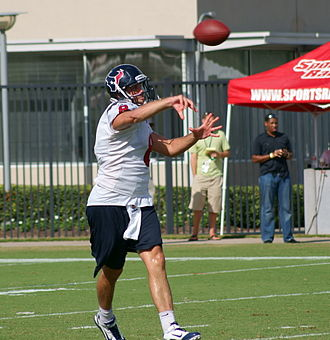 Matt Schaub - Schaub during Texans practice.