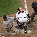 Matt Wieters blocks plate Derek Jeter by Keith Allison original.jpg