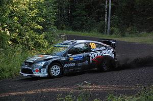 Matti Rantanen (rally driver) - Image: Matti Rantanen Rally Finland 2009