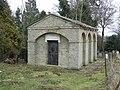 Mausoleum in All Saints' parish churchyard, Hacheston, Suffolk - geograph.org.uk - 1755001.jpg
