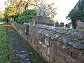 Maxstoke Churchyard Wall North.JPG
