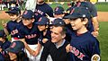 Mayor Garcetti hanging out with the kids from Encino Little League. (16215983103).jpg