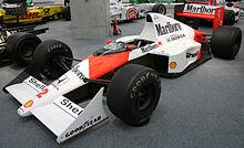 La McLaren di Prost del 1989.