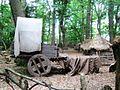 Medieval Wagon in Thunderdell Wood, Ashridge - geograph.org.uk - 1387198.jpg