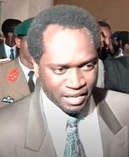 Melchior Ndadaye President of Burundi