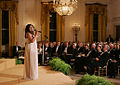 Melinda Doolittle performs in the East Room of the White House.jpg