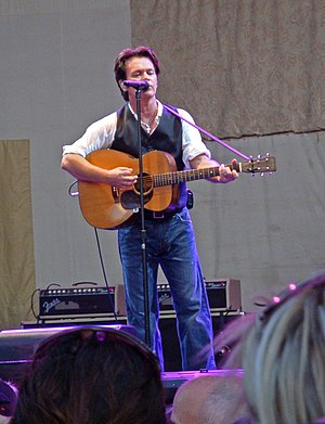 John Mellencamp - Mellencamp performing in Norfolk, Virginia in 2009