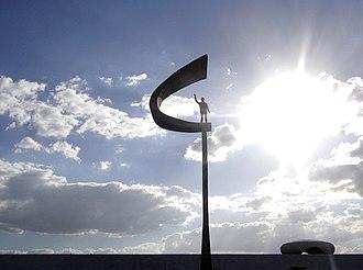 History of Brasília - The Juscelino Kubitschek Memorial.